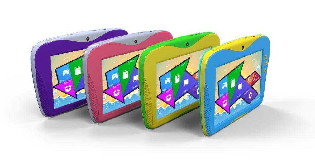 7 Inch Children Kids Tablets Android Tablet PC Rockchip Rk3026 Android 4.2 512MB RAM 4GB ROM Educational Pad for Children OEM