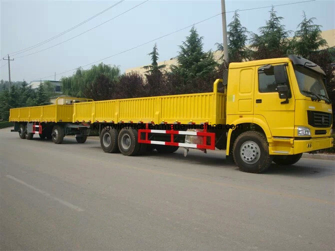 Sinotruk HOWO Brand 4X2 with Body Cargo Truck