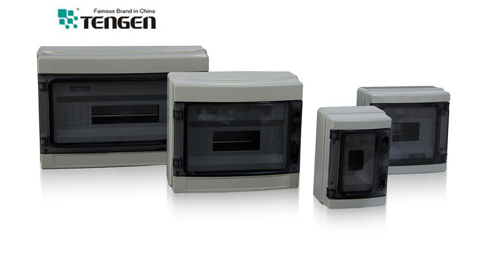 2014 New Merlin Gerin Type Plastic Distribution Box