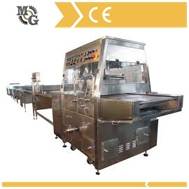 Chocolate Enrober Machine with Cooling Tunnel