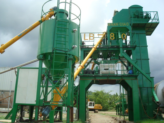 Stationery Asphalt Mixing Plant (LB600)