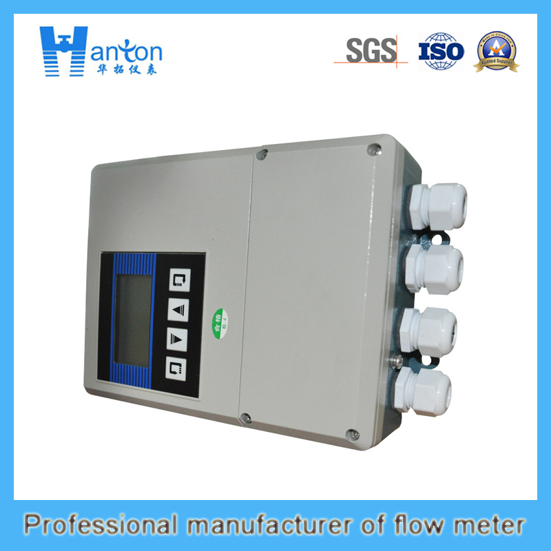 Hanton Carbon Steel Fixed Ultrasonic (Flow Meter) Flowmeter
