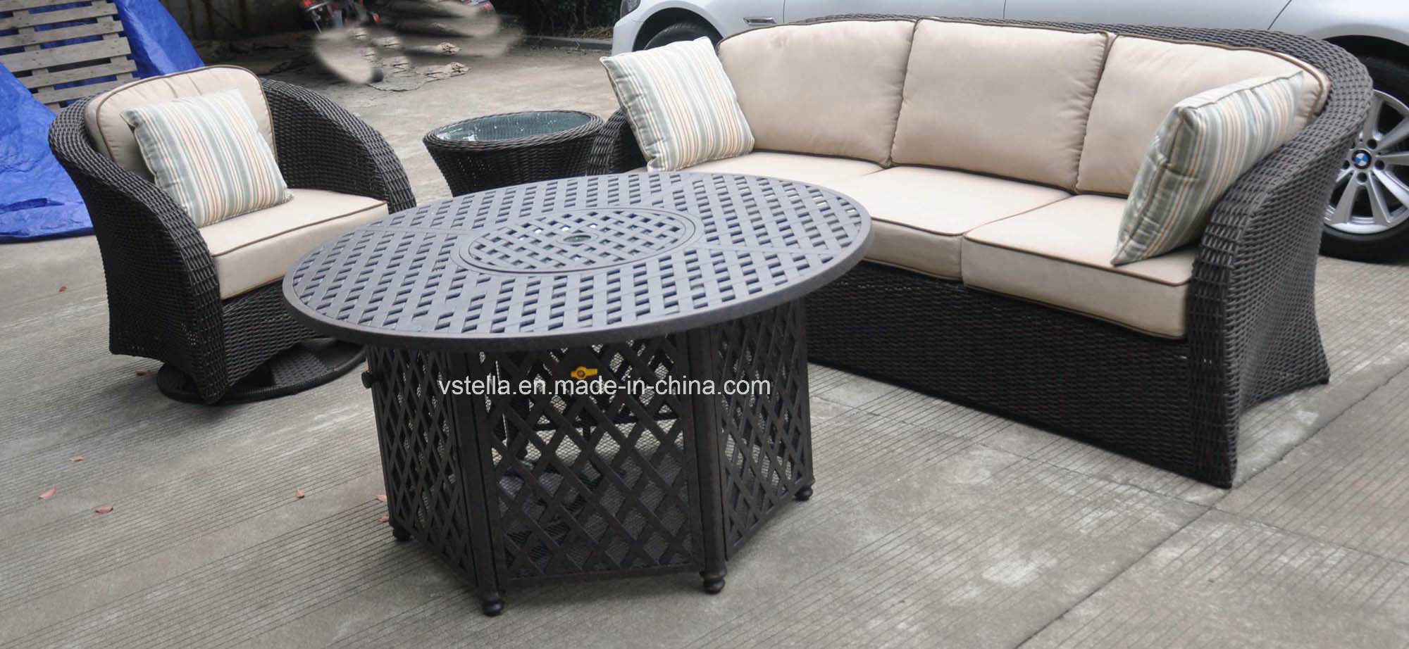 Finest Beatiful Garden Sofa Set