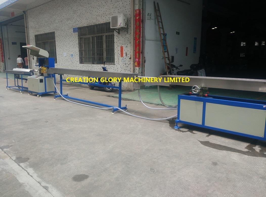 High Precision TPU Medical Tubing Plastic Extrusion Machine