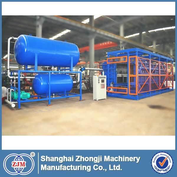 EPS Automatic Vacuum Block Molding Machine (Horizontal Sliding Door)