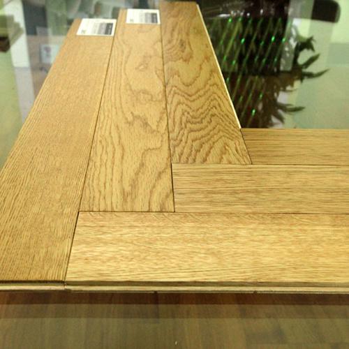 Herringbone Antique Brushed Natural Oak Engineered Wood Flooring