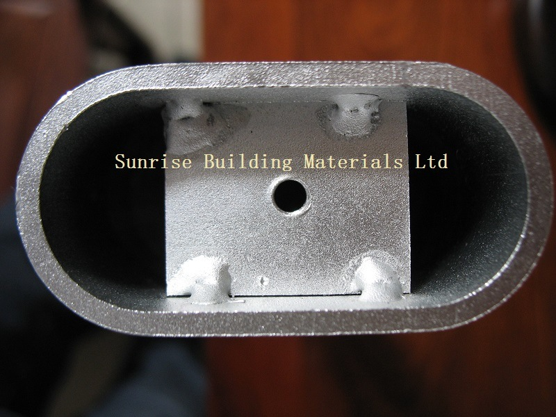 Shaped Aluminum Profile for Constuction/Industrial Use