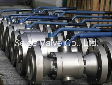 High Temperature and High Pressure Forged Steel Ball Valve
