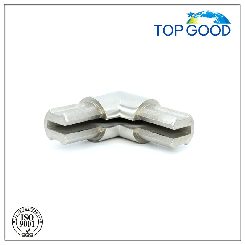 Stainless Steel 90 Degree for Sheet Profile Connector (53140)