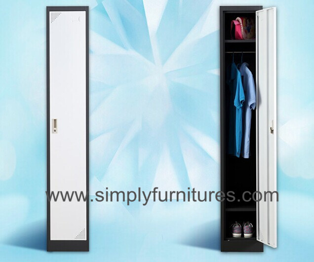 Single Door Metal Store Wardrobe