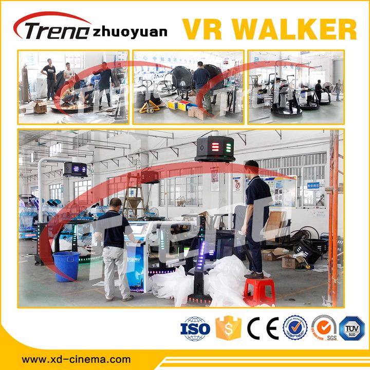Top Sale Zhuoyuan Vr Treadmill Simulator