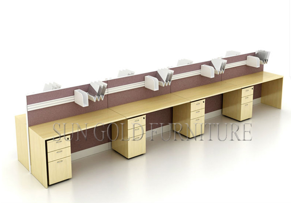 china modern design cubicle office linear open office
