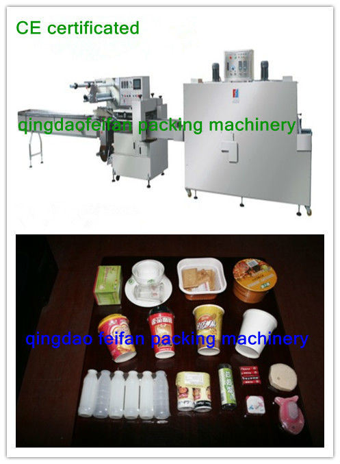 PLC Control Japan Technology Shrink Wrapping Machine with Shrink Tunnel