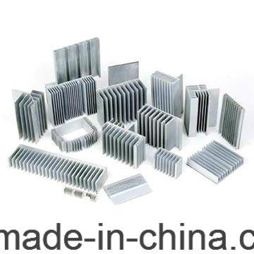 6063 Custom Extruded Aluminum Heat Sink
