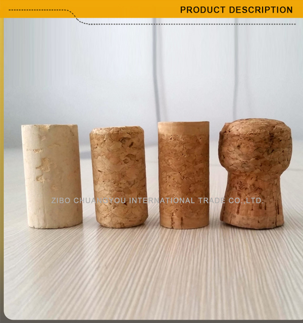 750ml Dark Green Cork Top Burgundy Glass Wine Bottle (007)