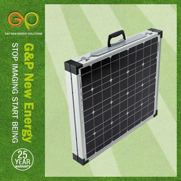 G&P Folding Solar Panel Mono Crystaline Silicon (gpm-2f-90W) , Solar Power, Solar Module