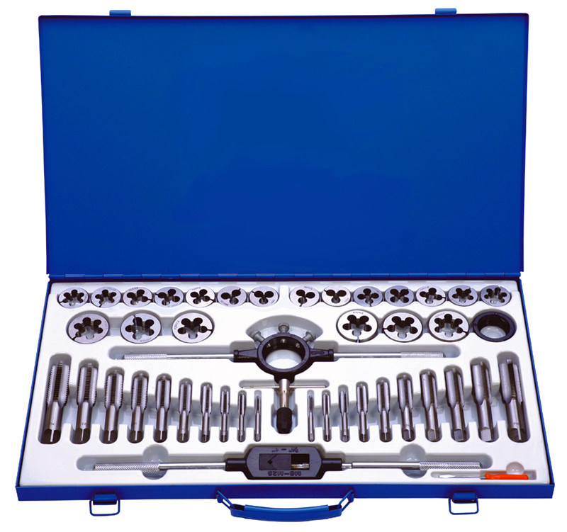 42PCS Professional Tap and Die Set in Metal Case (MM004)
