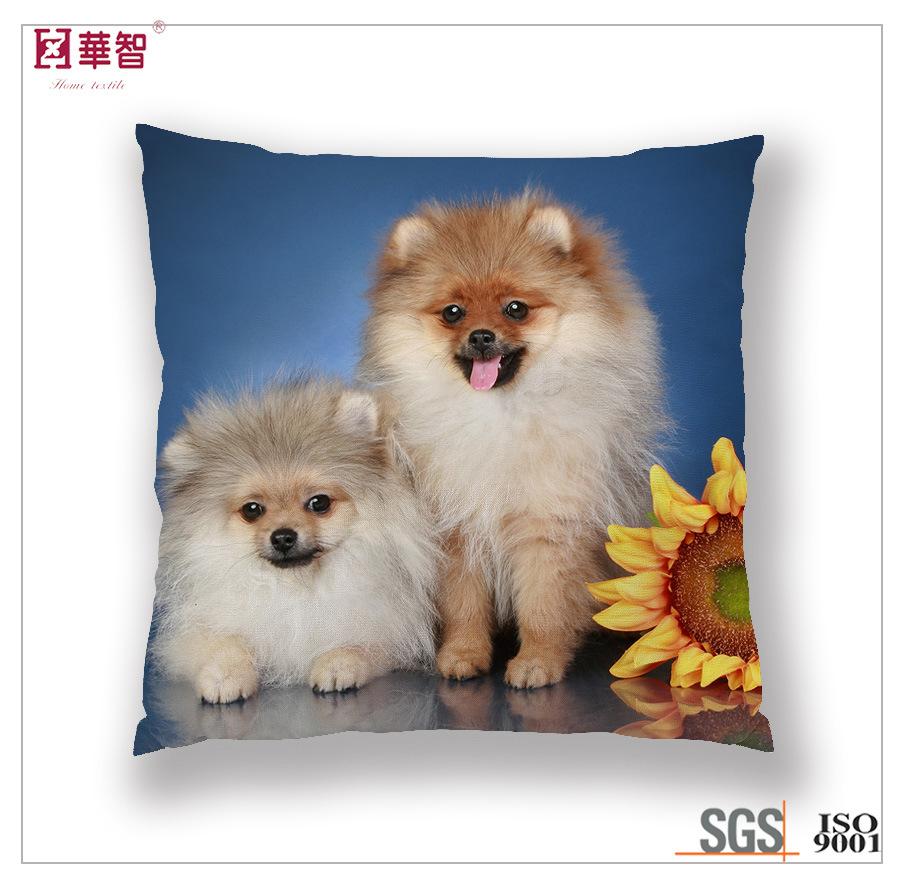 Digital Printed Cat Cushion Cover