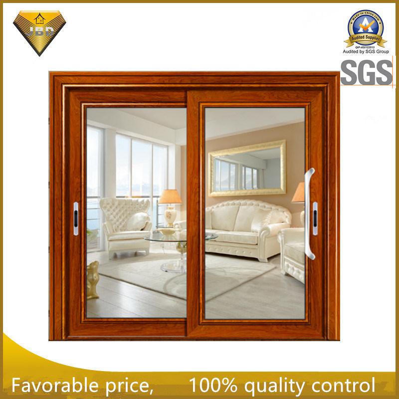 Interior Insulated Glass Aluminum Sliding Door for TV Room