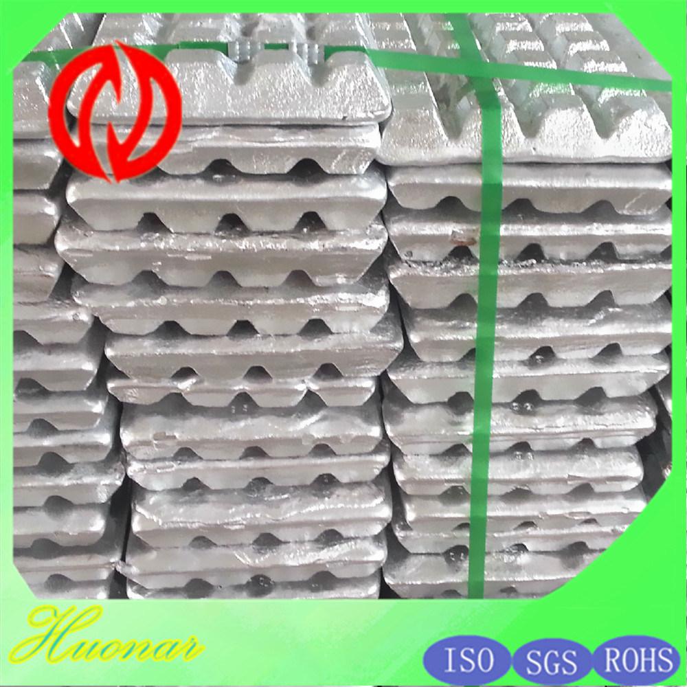 Pure Magnesium Alloy Casting Ingot Mg9990 / Mg9995