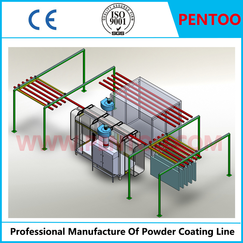 Powder Coating Line for Powder Painting with High Performance