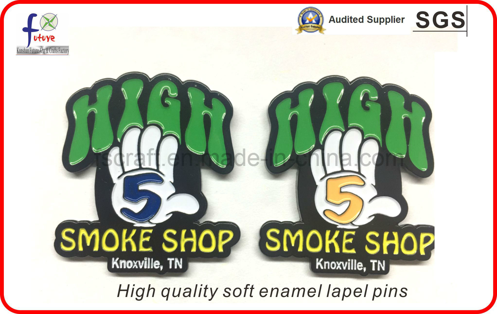 2016 New Custom Lapel Pins Badges Metal Logo