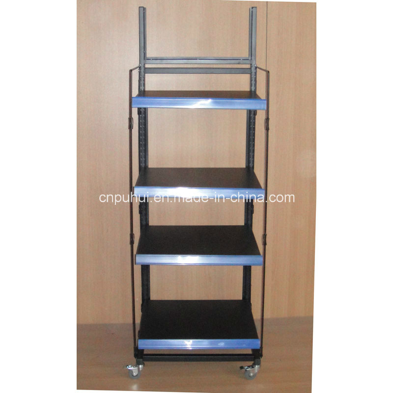 4 Tier Rollable Display Shelf (PHY393)