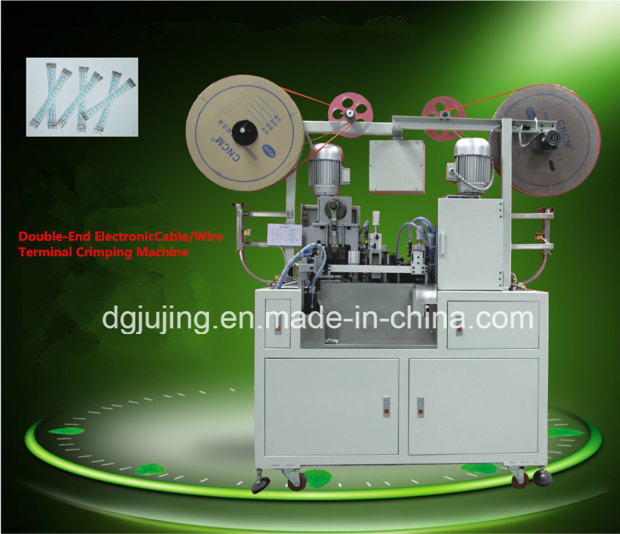Automatic Double Ends Wire Cable Terminal Crimping Machine