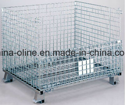 Steel Metal Storage Mesh Container