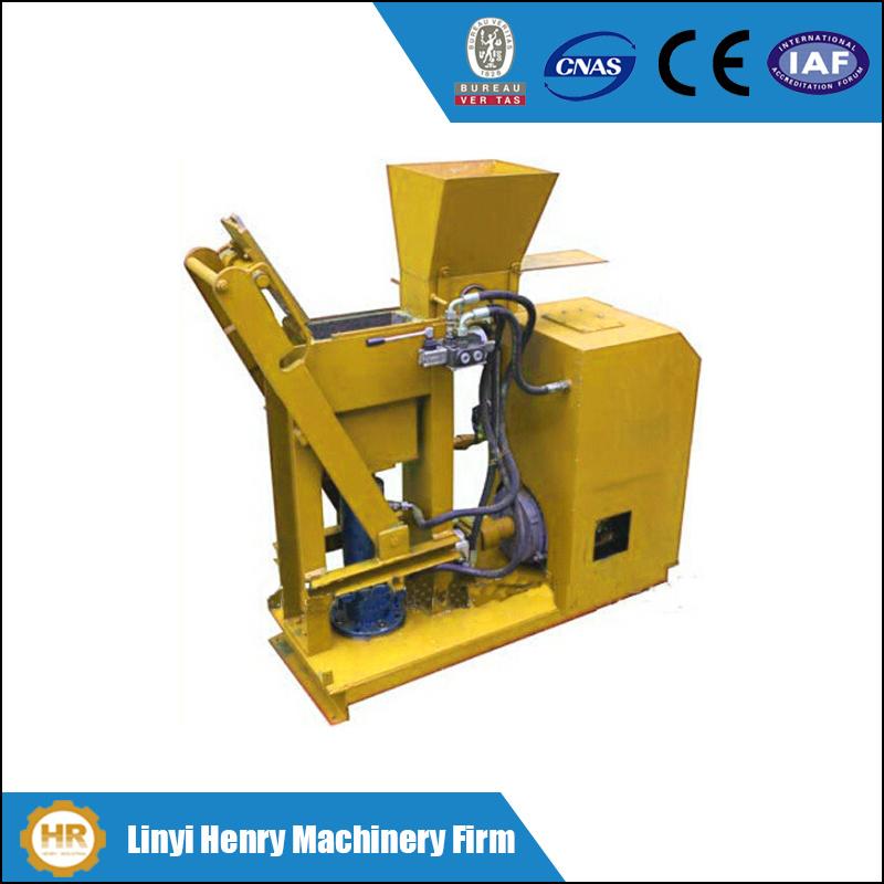 Clay and Eco Soil Hydraulic Interlocking Brick Machinehr1-25