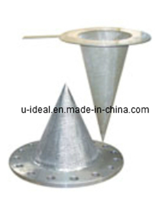 Stainless Cone Temporary Strainer-Conical Temporary Filter