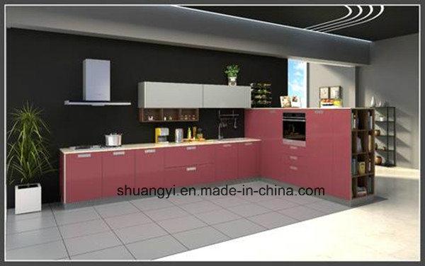 Melamine Chipboard Modular Kitchen Cabinet