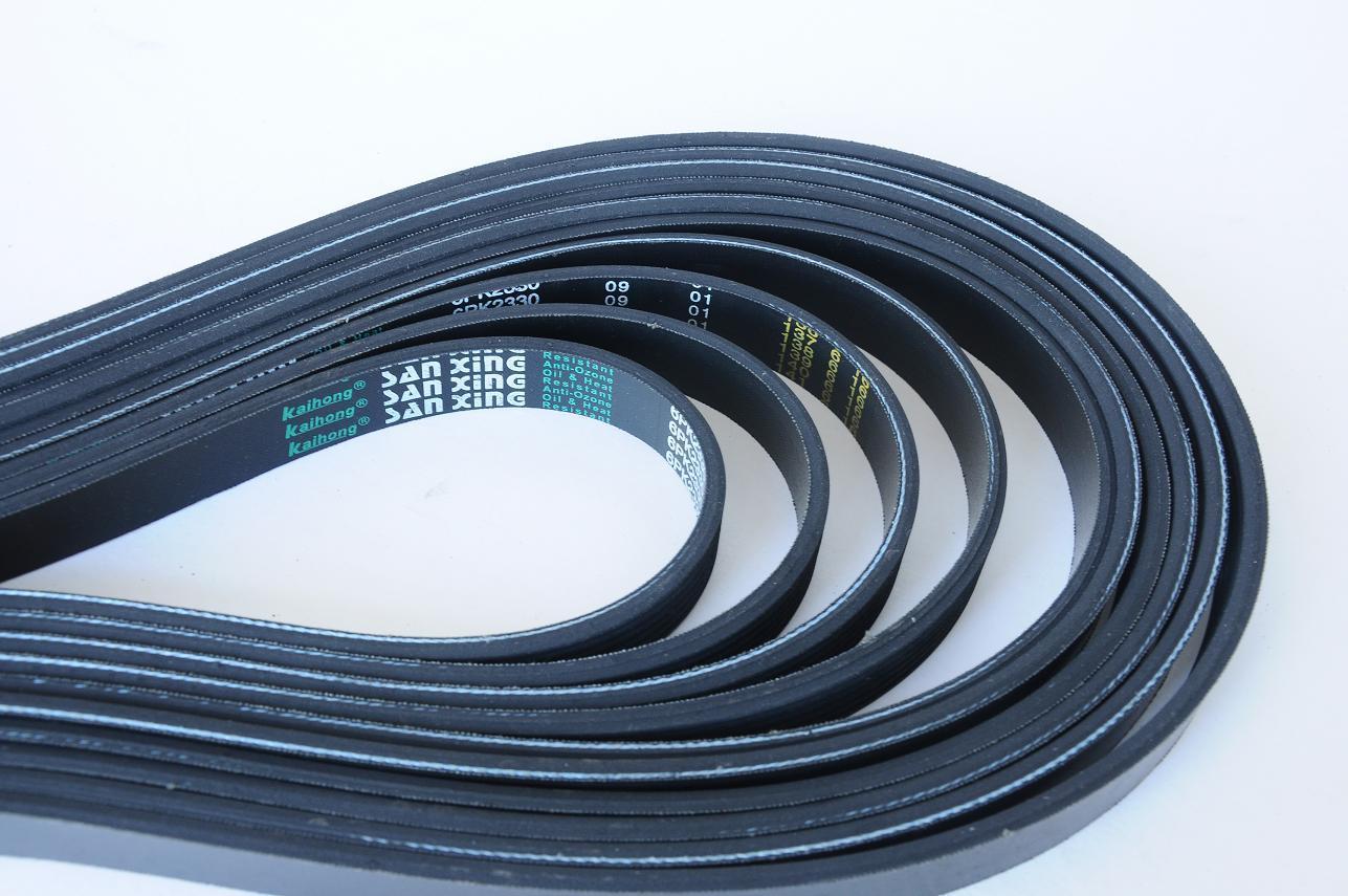 Rubber Ribbed V Belt for Industrial Machines