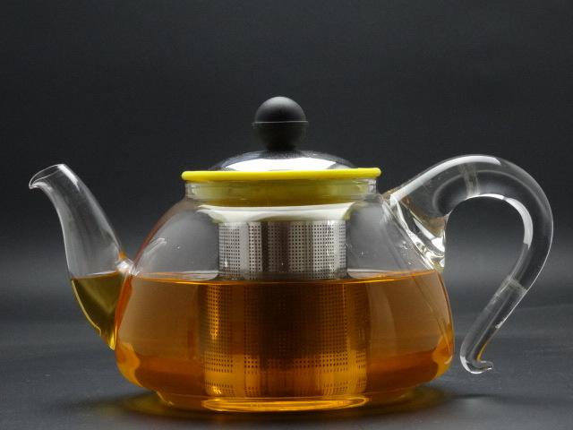1000ml The Glass Teapot (made of borosilicate glass 3.3) Wih Beautiful Outlook