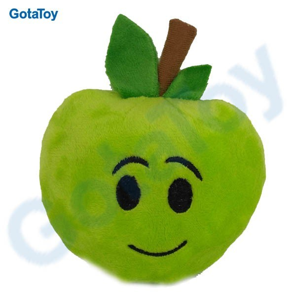 Custom Plush Apple Toy Stuffed Apple Soft Toy