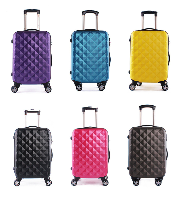 High Quality Custom Logo Cheap ABS Luggage for Travelling