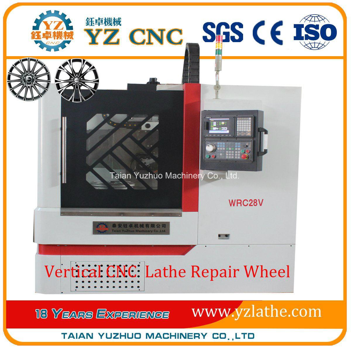 High Precision Vertical CNC Lathe Vck700