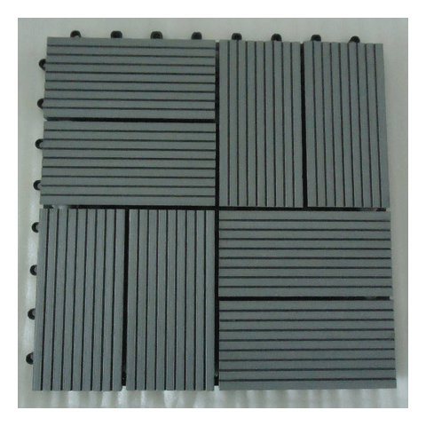 Sensu Directly Factory Price DIY Decking Tile with WPC Materials