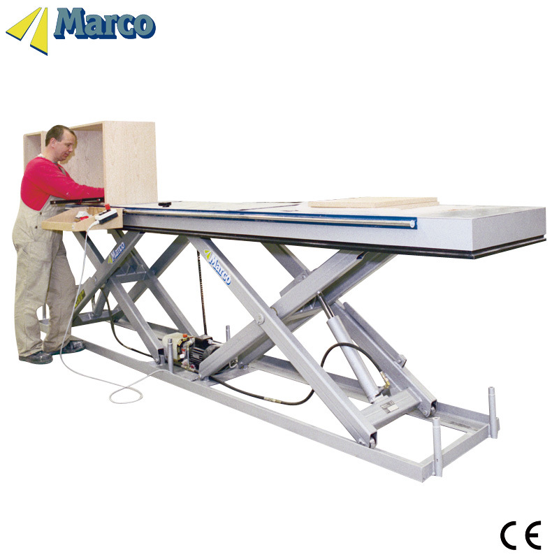 1 Ton Marco Twin Scissor Lift Table with CE Approved