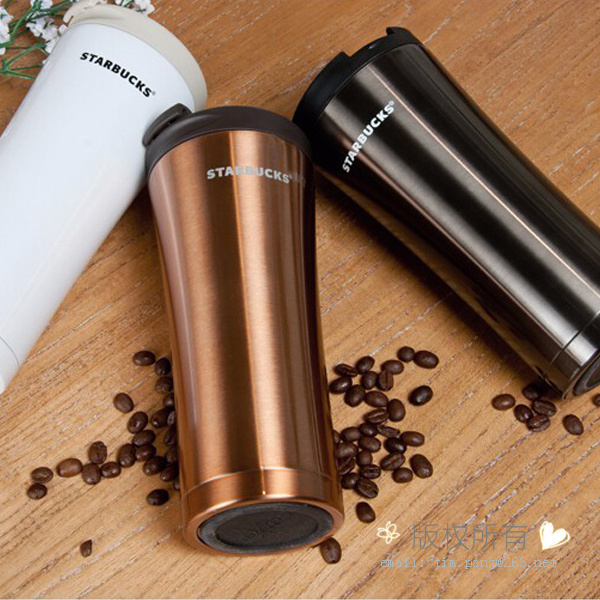 Stainless Steel Starbucks Thermos Mug Travel Coffee Mug Coffee Tumbler