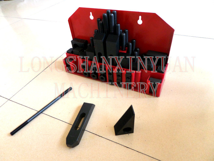 Deluxe Steel High Hardness 58PCS Clamping Kit