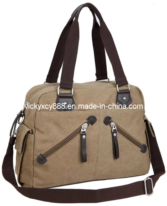 Canvas Bag, Canvas Handbag, Leisure Handbag, Single Shoulder Bag (CY8809)