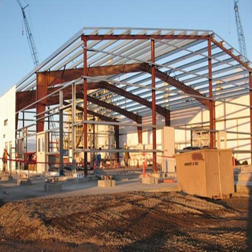High-Strength Prefabricated Steel Structure Workshop/Warehouse