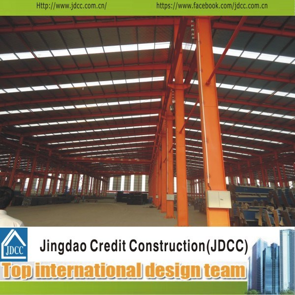 High Quality Large Steel Structure Prefabricated Workshop