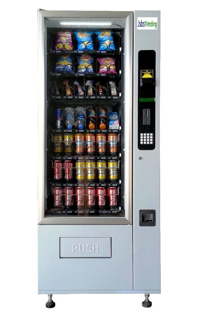 snack drink combo vending machine