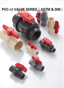 UPVC/CPVC Plastic Check Valves, Ball Valves