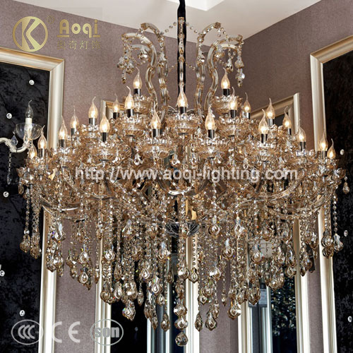 Crystal Chandelier Lamp (AQ50039-20+15+5+1)