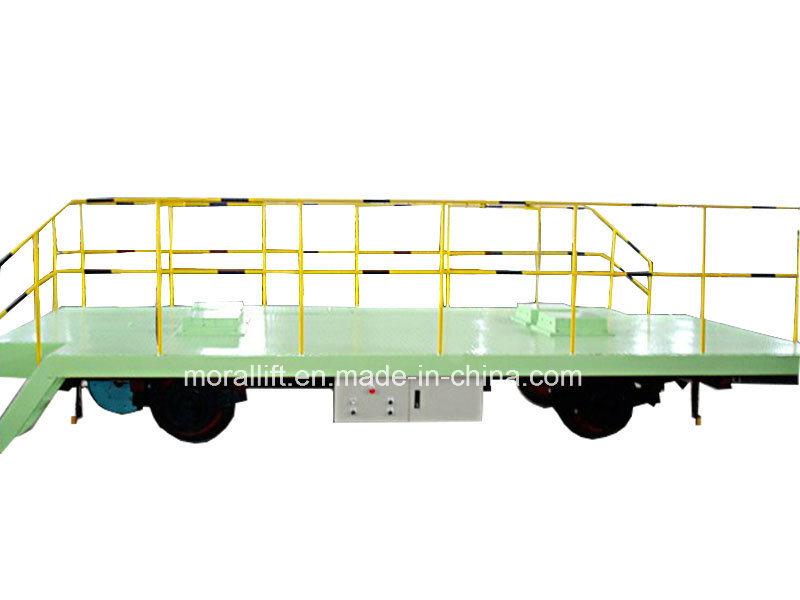 Hot Sale Workshop Transfer Cart Electric Flat Cart