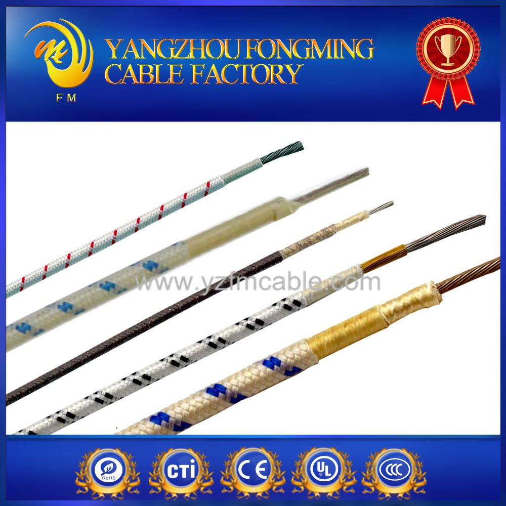 350deg. C Fiberglass Insulated Heat Resistant Wire
