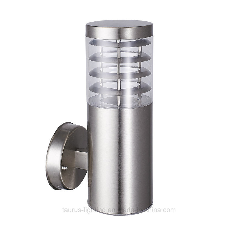 PC Cover Stainless Steel Body Wall Light